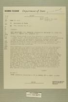 Telegram from Edward B. Lawson in Tel Aviv to Secretary of State, January 23, 1956