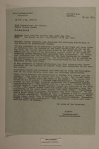 Memo from Schaumberger re: News from the Russian Zone about May 1st, April 30, 1951