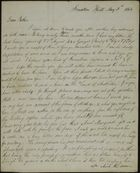 Letter from James Butchart to Robert Butchart, May 5, 1844