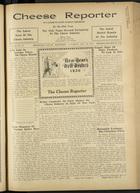 Cheese Reporter, Vol. 60, no. 17, Saturday, December 28, 1935