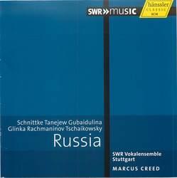 Russia: Schnittke, Tanejew, Gubaidulina, Glinka, Rachmaninov, Tschaikovwsky  Album Art
