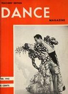 Dance Magazine, Vol. 17, no. 3, February, 1943