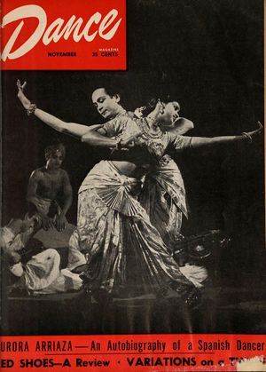 Dance Magazine, Vol. 22, no. 11, November, 1948