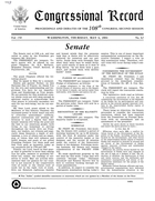 Congressional Record - Proceedings And Debates Of The 108Th Congress (2003-2004), Second Session. Condemning The Government Of The Republic Of The Sudan, May 06, 2004