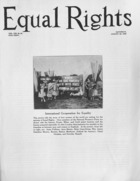 Equal Rights, Vol. 13, no. 28, August 28, 1926