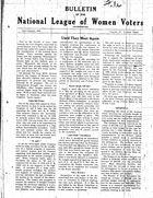 Bulletin, vol. 4 no. 3, July-August 1930