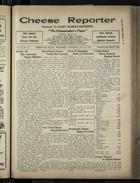 Cheese Reporter, Vol. 54, no. 35, Saturday, May 10, 1930