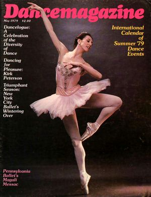 Dance Magazine, Vol. 53, no. 5, May, 1979