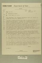 Telegram from Ivan B. White in Tel Aviv to Secretary of State, April 25, 1956