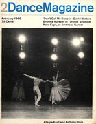 Dance Magazine, Vol. 39, no. 2, February, 1965