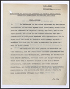 Memo to Executive Officers of County Agricultural Executive Committees in England and Wale re: Farm Sunday, March 31, 1944