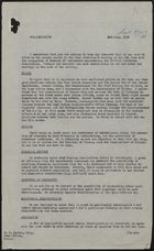 Memo from P. Rogers re: Points Raised at Home Secretary's Meeting, July 02, 1959