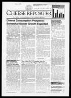 Cheese Reporter, Vol. 126, No. 18, Friday, November 9, 2001