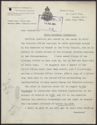 Letter from G. Stuart King to R. M. Greenwood, July 16, 1924
