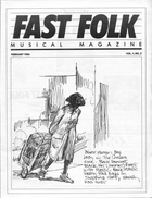 Fast Folk Musical Magazine (Vol. 1, No. 2)