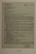 Memo from Dr. Riedl re: Apprehension of Agent of CIC Office Selb, May 21, 1951