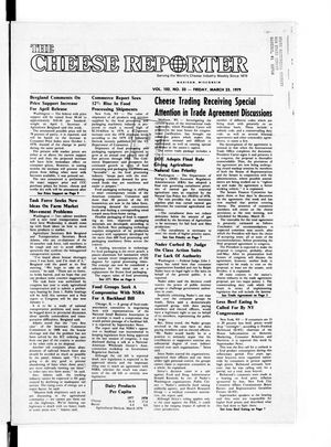 Cheese Reporter, Vol. 102, No. 33, Friday, March  23, 1979