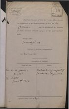 Memo from Under Secretary of State for Foreign Affairs to Under Secretary of State for the Colonies re: Prohibition of Export of Jamaican Logwood, January 04, 1916
