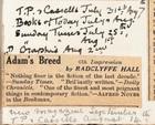 Adam's Breed by Radclyffe Hall: 6th Impression