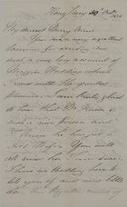 Letter from Thomas Coats Leslie to Mary Anne Leslie Davidson, October 30, 1850