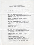 Agenda: Advisory Council Meeting, Executive Office Building Room 415, Tuesday, June 4, 1968