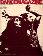 Dance Magazine, Vol. 44, no. 7, July, 1970
