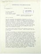 Letter from Charles O'Neill to John T. Lassiter re: December 15 Progress Reports; Medical Program for 1943, February 18, 1943