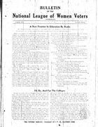 Bulletin, no. 8, March 1929
