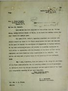 Letter from C. A. McIlvaine to A. Percy Bennett, April 25, 1923