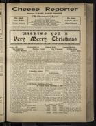 Cheese Reporter, Vol. 55, no. 15, Saturday, December 20, 1930