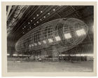 The Nose of the USS Akron being Attached, ca. 1933
