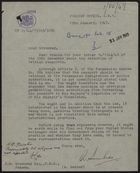 Letter from R. Dunbar to J. D. Greenway re: Panamanian Decree on Retention of Foreign Passports, January 19, 1949