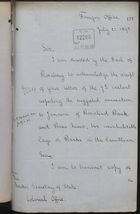 Memo from T. H. Sanderson to Under Secretary of State, Colonial Office, re: Possible Annexation of Uninhabited Cays, and Attached Memo, July 21, 1893