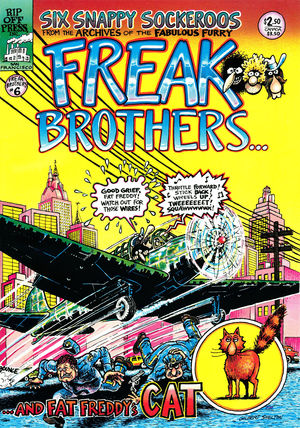 The Fabulous Furry Freak Brothers, no. 6