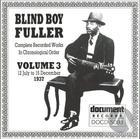 Blind Boy Fuller: Complete Recorded Works In Chronological Order, Vol. 3