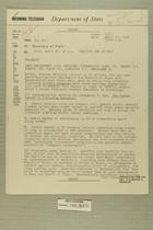 Telegrams from Ivan B. White in Tel Aviv to Secretary of State, April 1956