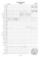 Suite Bergamasque, arranged for Symphonic Band: Movement 2 'Menuet', L. 75