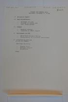 Agenda for Rwanda SVTS Thursday, December 1, 11:00