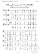[1] La cortesia voi donne predicate, Op. 1
