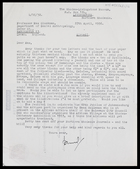 Desmond Clark to MG, 27 Apr. 1956