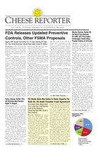 Cheese Reporter, Vol. 139, No. 13, Friday, September 19, 2014