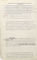 Draft - Agricultural Notes for the Lord President's Press Conference, 4th June, 1947
