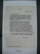 Letter from Samuel Reber to Mr. Kindleberger, November 16, 1945
