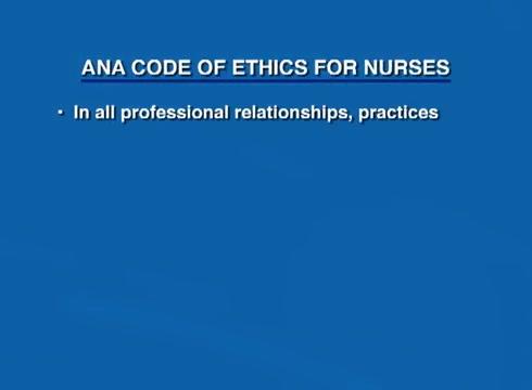 relationship between ethics and professional behavior