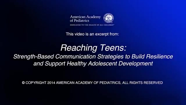 Developing Resilience In Teens And >> Reaching Teens Strength Based Communication Strategies To Build