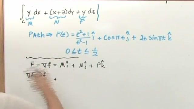 Fundamental Theorem of Line Integrals, Part 2