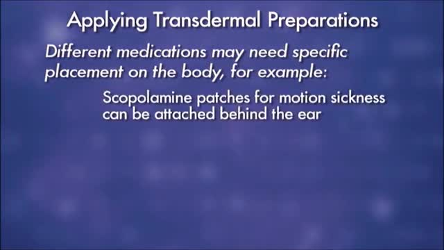 administering medications topical suppository and inhalant