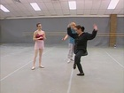 Balanchine Foundation Video Archives: MARIA TALLCHIEF coaching excerpts from Firebird (II)