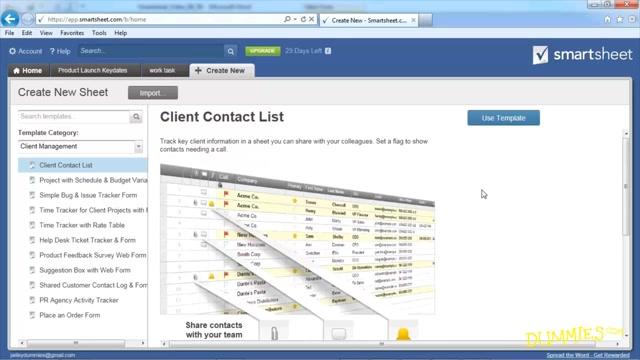 cloud based presentation spreadsheet tools for dummies slideshare