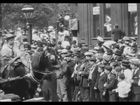 Mitchell and Kenyon 808: Leeds Lifeboat Procession and Sports at Roundhay Park, 1902
